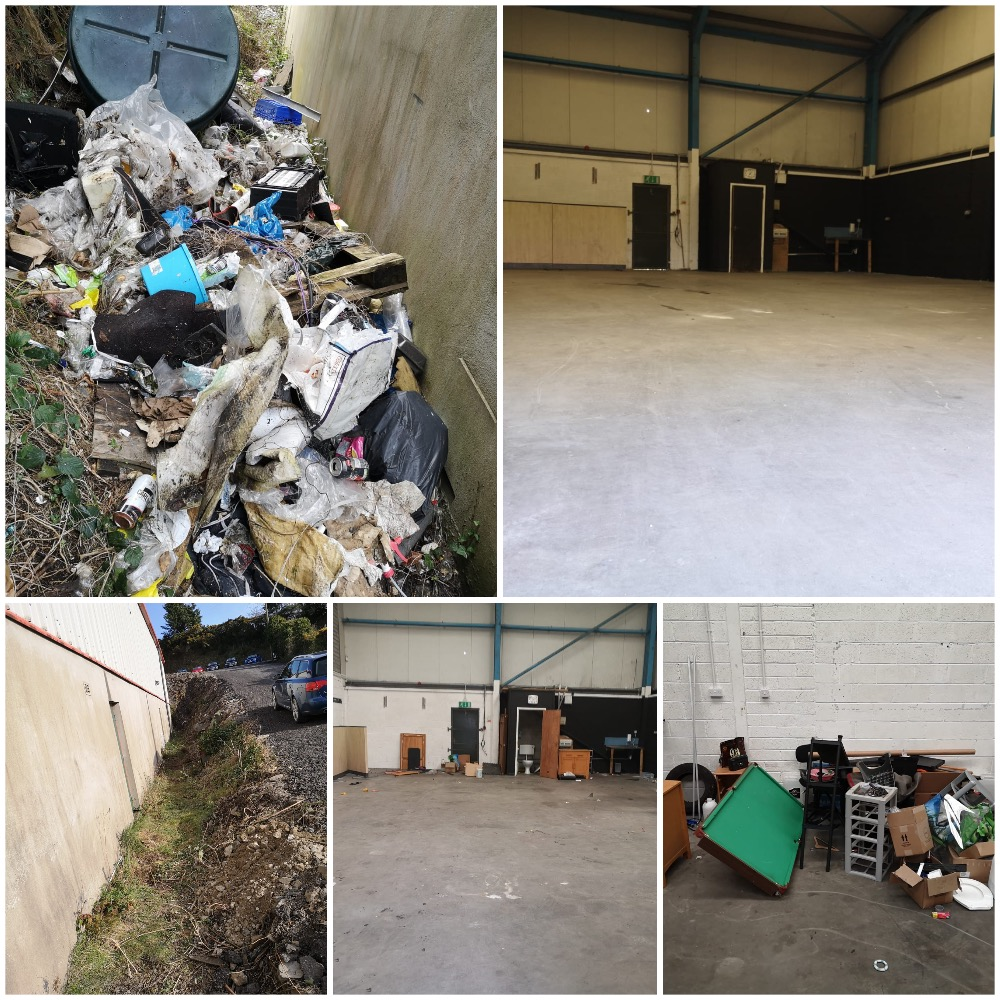 Commercial Property Clearance, Bangor, Ards, Belfast