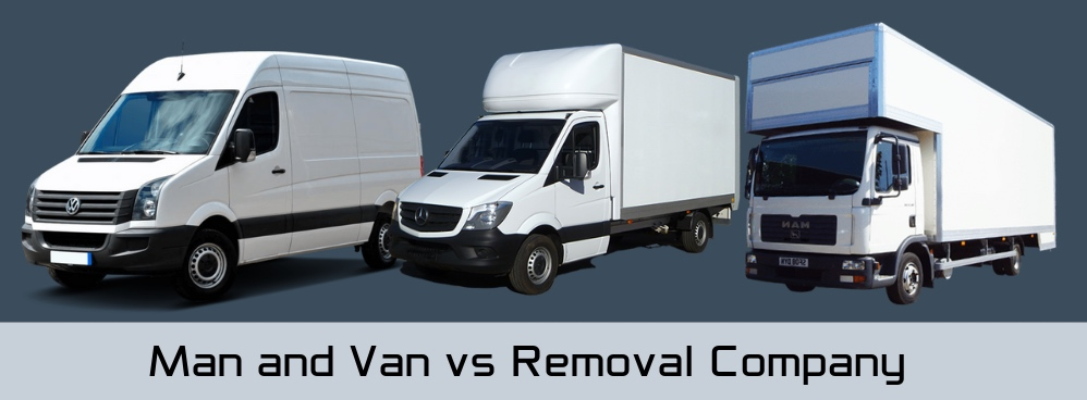 Man and Van vs Removal Company