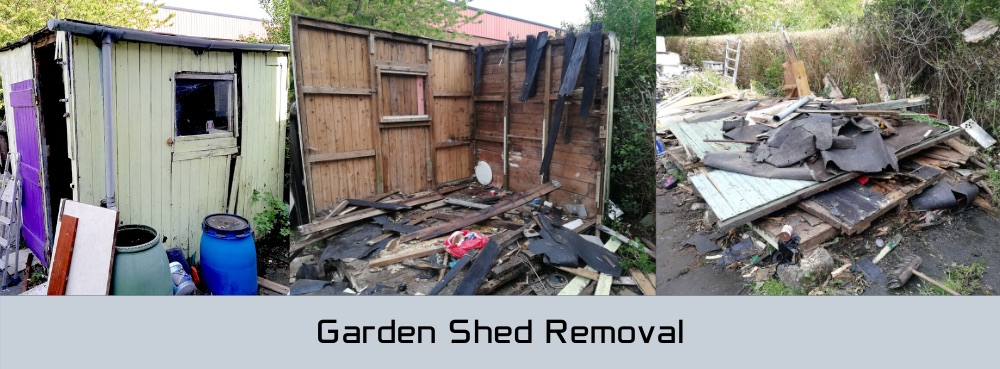 Garden Shed Removal