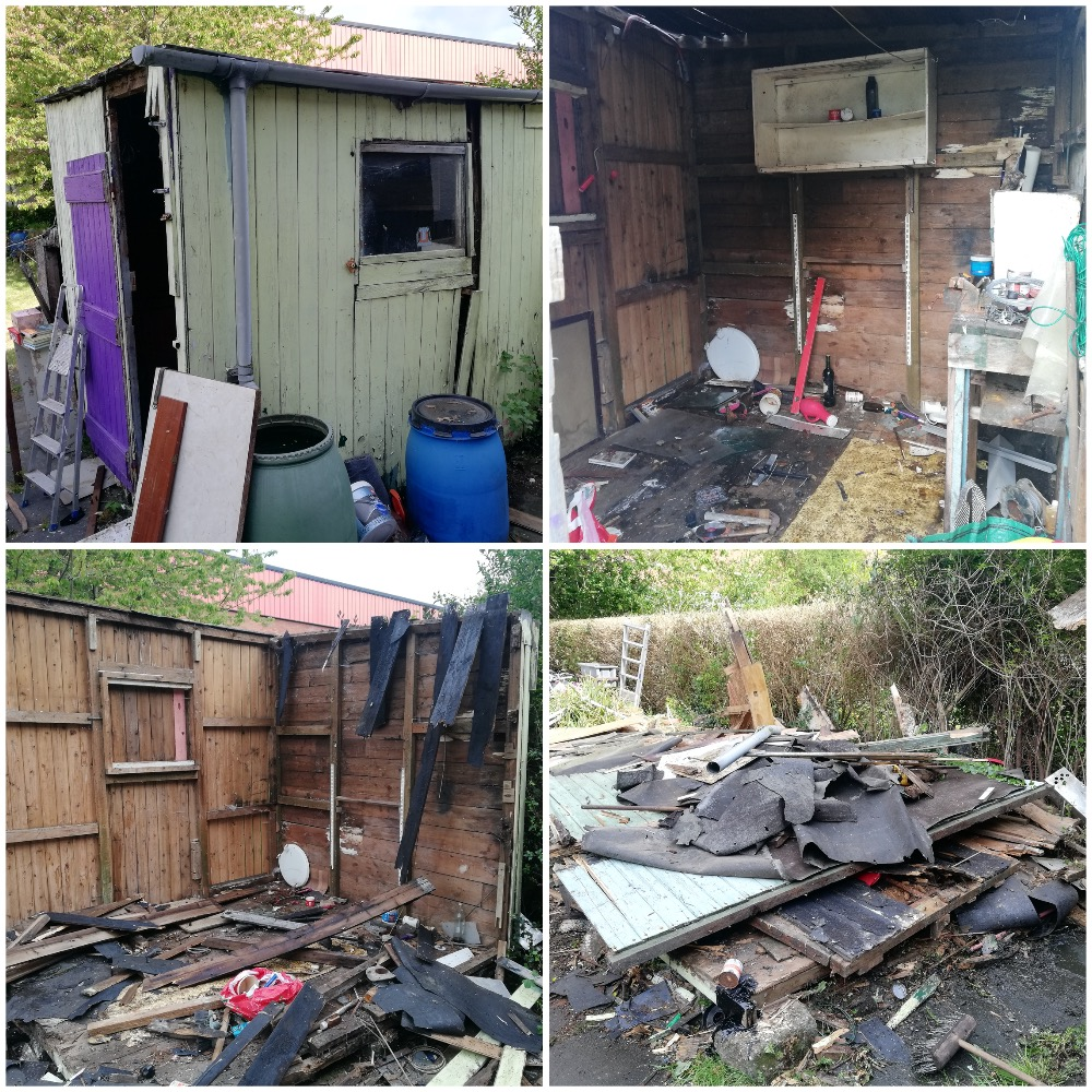 Garden Shed Removal North Down
