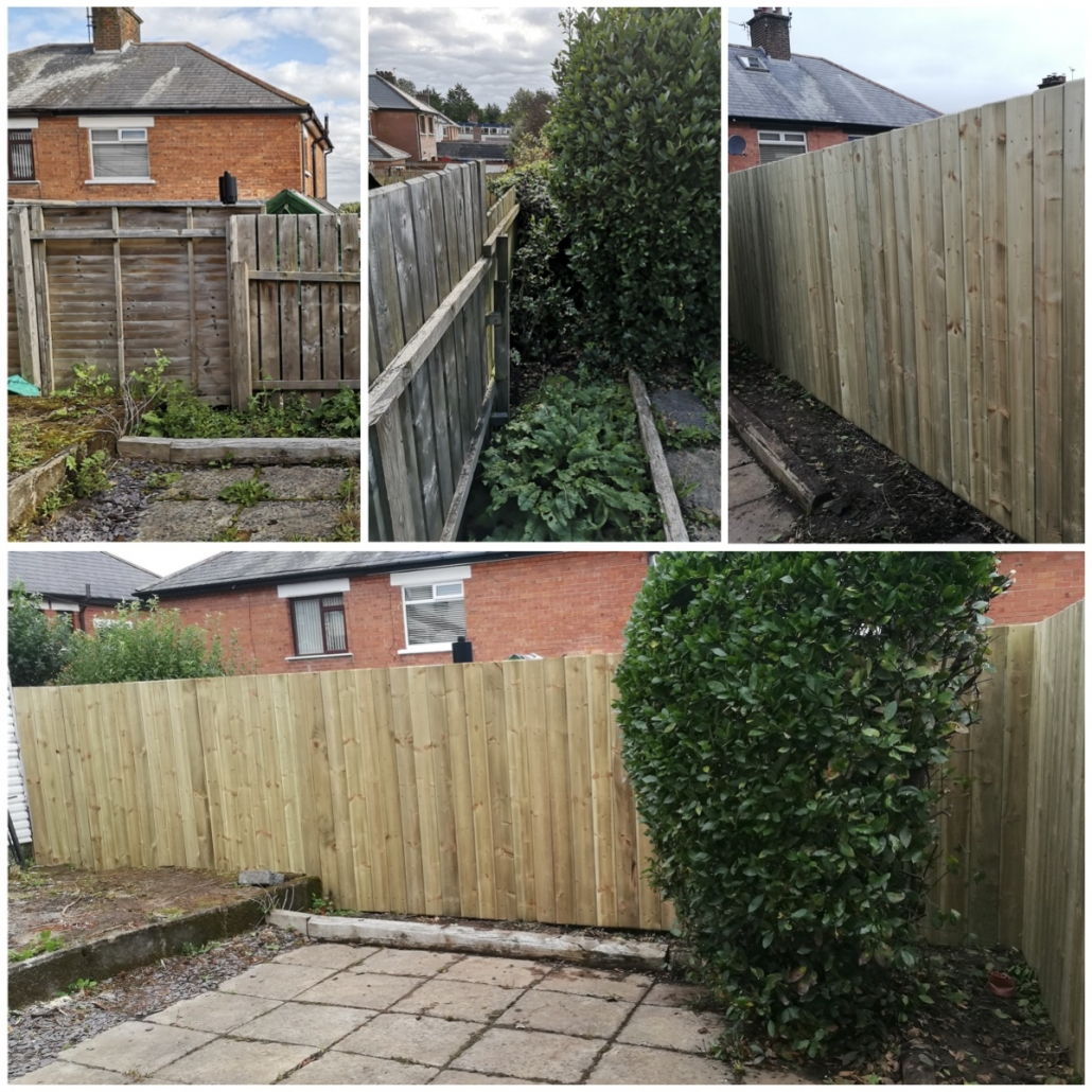 Fencing, North Down, Bangor, Newtownards