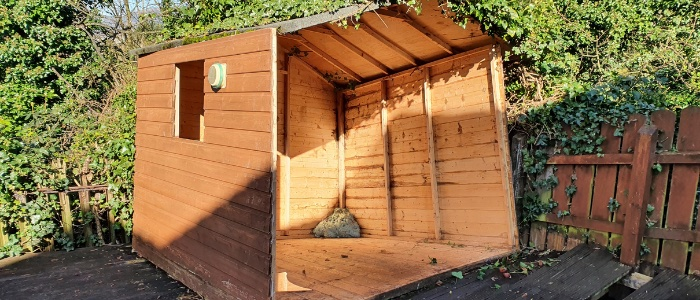 Shed Removal Newtownabbey